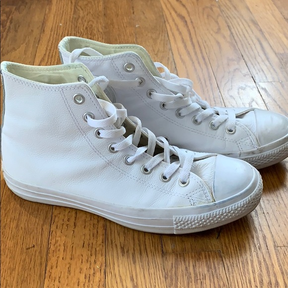 all leather chuck taylors